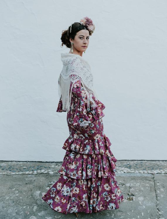Trajes-de-flamenca-isabel-hernandez-Modelo-Calañas-2
