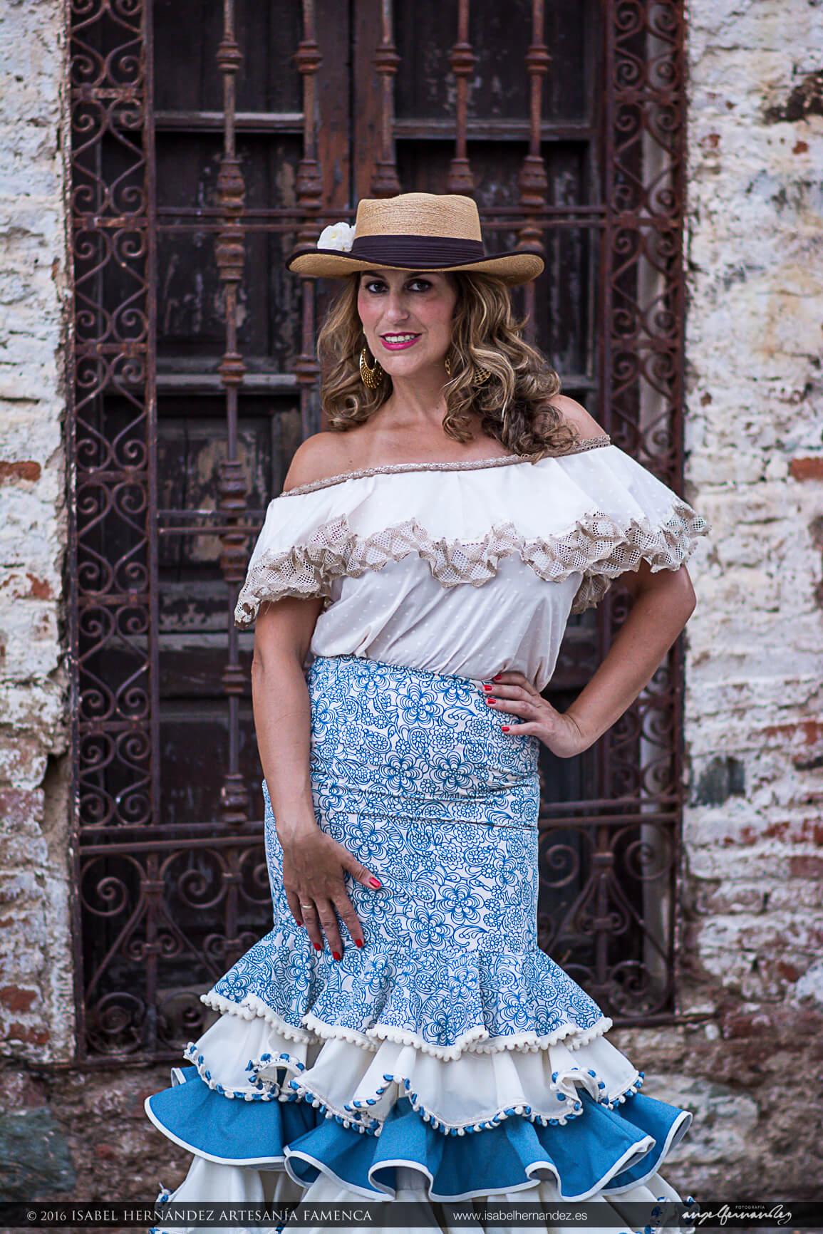 81aa72843 Faldas flamencas económicas Isabel Hernandez Artesania Flamenca