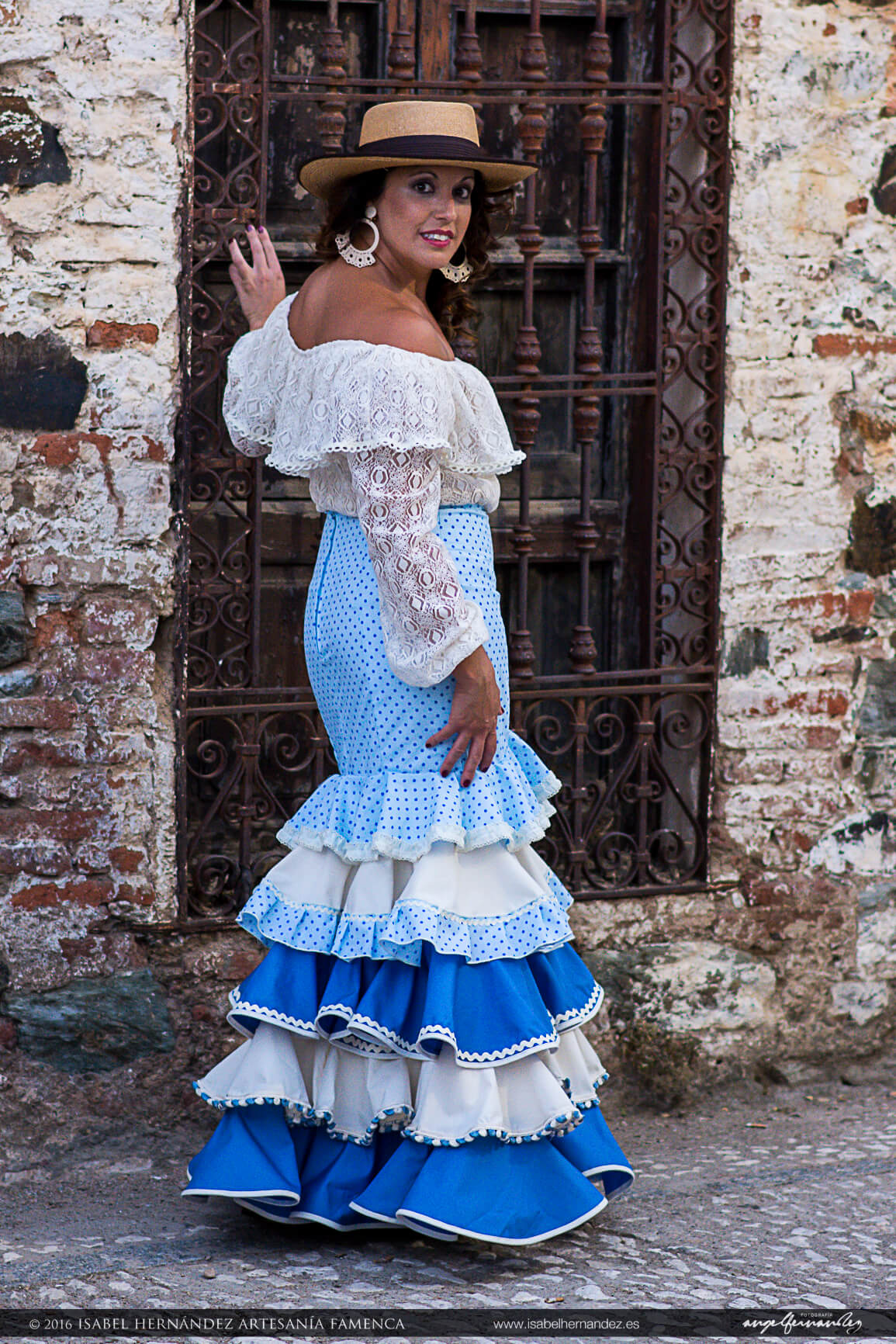 accd082ec Faldas Flamencas económicas Isabel Hernandez Artesania Flamenca