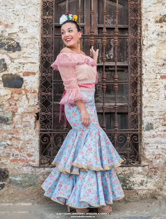 ff64265cd Faldas Flamencas Isabel Hernández Artesanía Flamenca